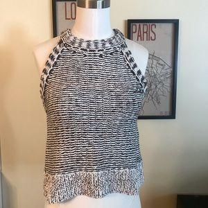 Silence + noise knit sweater tank